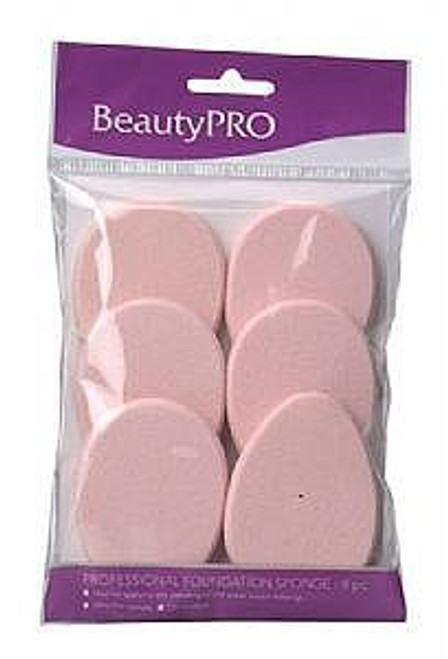 BeautyPro Teardrop Contour Sponges 6pc