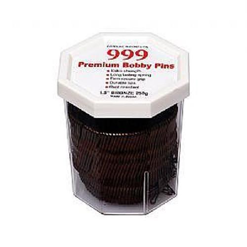 999 Premium Bobby Pins 1.5 Bronze
