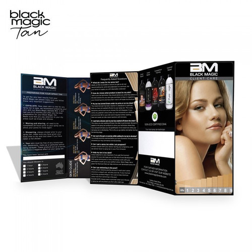 Black Magic Client Care Brochures 100pk