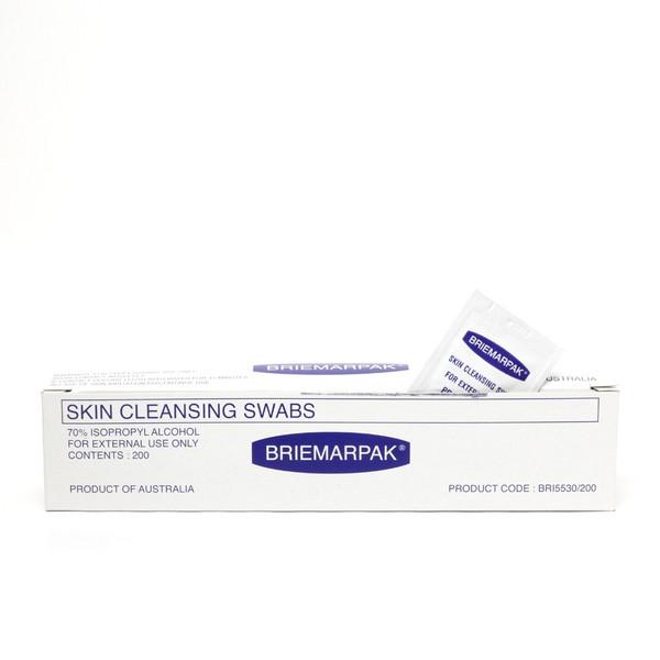 Skin Cleansing Swabs 200pc