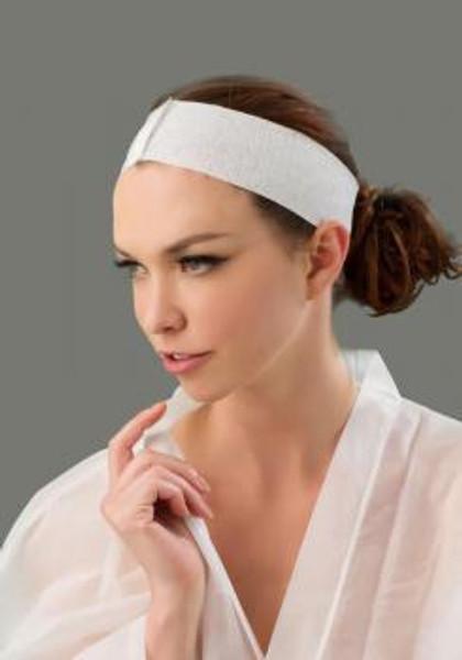 Bodyline Disposable Headbands Stretch Velcro 100pc