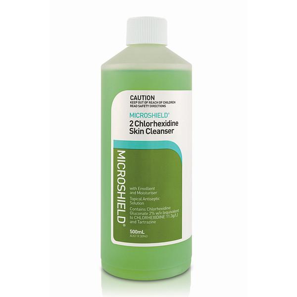 Microshield Skin Cleanser 2% Chlorhexidine