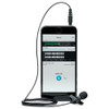 SHURE MOTIV MVL connects to tablets and mobile devices
