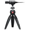 SHURE MV88+ VIDEO KIT Digital Stereo Condenser Microphone side view on tripod