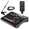ZEDi-10FX-mixer-Hewitt-LCT-240-mic-MS-108-stand-Hosa-XLR-cord. EMI Audio