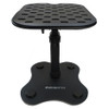 YORKVILLE SKS-T11 11 inch tall Studio Monitor Table-Top stand front view. EMI Audio