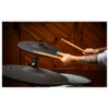 Alesis Strike Pro SEcymbals with drummer holding sticks