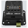 CHAUVET DMX-RT DMX recording device with triggerable playback from DMX or the phoenix connectors direct top/front view showing all buttons and screen