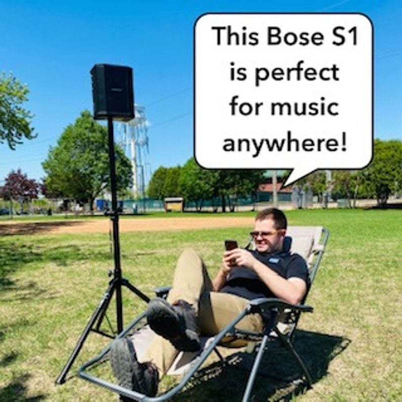 #PFH with the Bose S1!