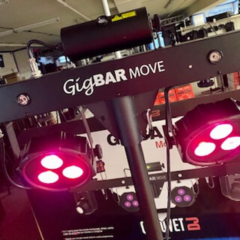 GigBar Move is your all-in-1 light show!