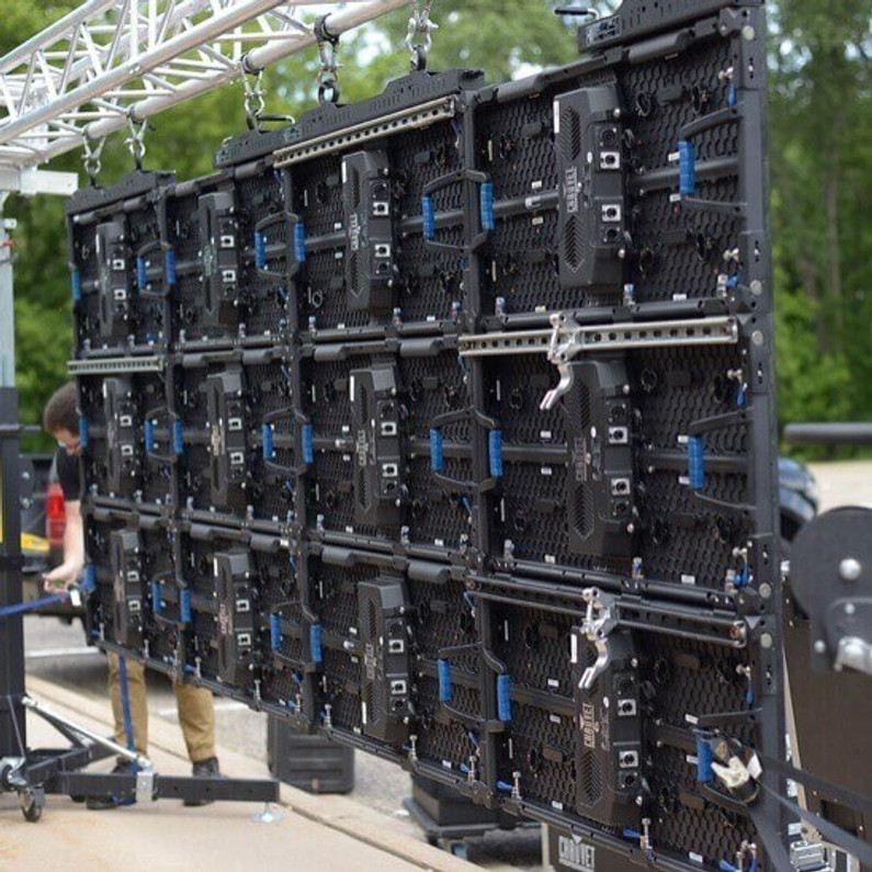 Rent a video wall for parking lot and drive-in events!