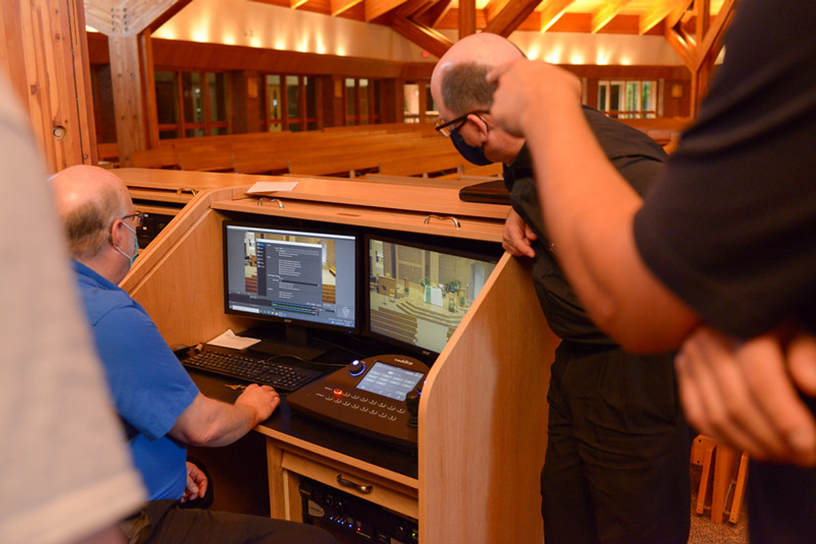 A Video System Install with Training for the Church of St Pascal Baylon