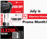 July is EV Month! EV Promos run all month long!