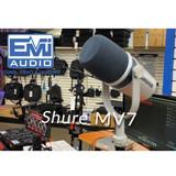 Will runs through the SHURE MV7 podcaster mic!