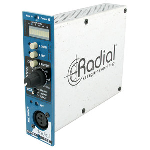 PowerPreMic preamp, 100% discrete, Hammond transformer & Vox control EQ