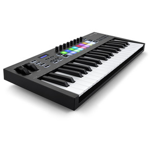 NOVATION Launchkey 37 [MK3] MIDI Keyboard Controller front left angle