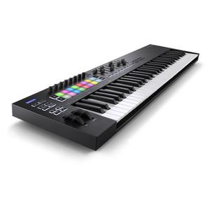 NOVATION Launchkey 61 [MK3] MIDI Keyboard Controller front left angle
