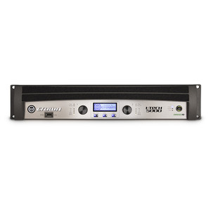 I-Tech 5000HD two channel amplifier front view