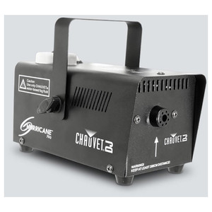 CHAUVET Hurricane 700 Compact, lightweight fog machine front and right side
