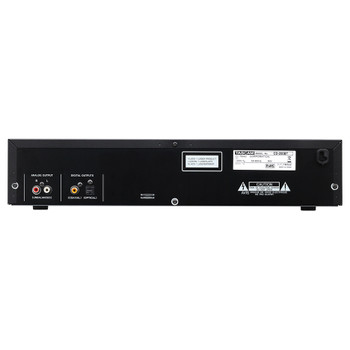 CD-200BT Professional CD Player with Bluetooth Receiver rear view