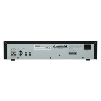 CD-RW900MKII - CD Recorder/Player back view