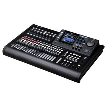 DP-32SD - 32-track Digital Portastudio angled view EMI Audio