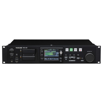 The TASCAM HS-20 front view