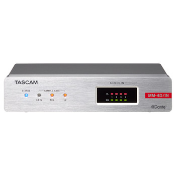 Tascam MM-4D/IN-X Front EMI Audio