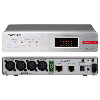 Tascam MM-4D/IN-X Front and Rear EMI Audio