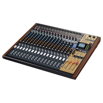 TASCAM MODEL 24 - 24 Channel Multitrack Recorder with USB Audio Interface and Analog Mixer front view EMI Audio