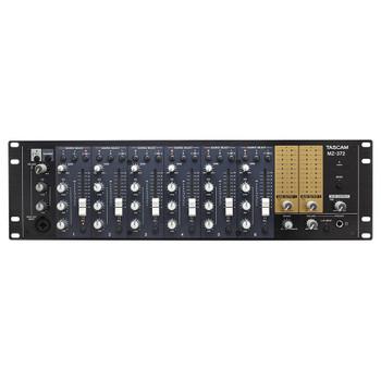TASCAM MZ-372 DUAL OUTPUT PARALLEL MIXER front view EMI Audio