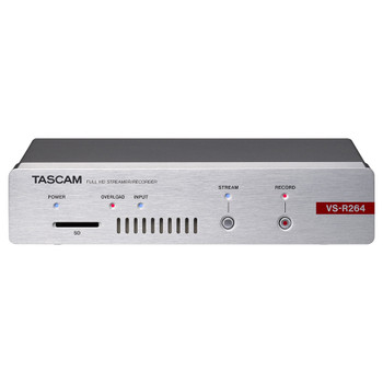 Tascam VS-R264 Front EMI Audio