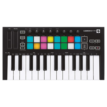 NOVATION Launchkey Mini [MK3] 25 Mini-key USB Controller Keyboard with Software