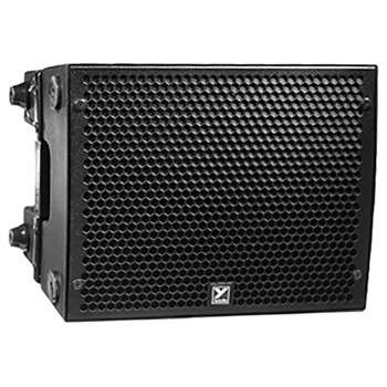 """PSA1 1200 watts peak- powered - compact array loudspeaker - 4 x 6"""" woofers & 2 x 1"""" drivers on a Paraline lens front view"""