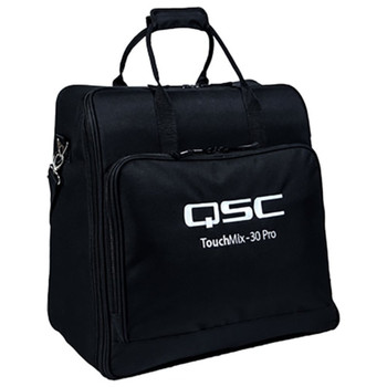 QSC TOUCHMIX-30 PRO TOTE Soft, padded polyester tote with zippered accessory pouch for TouchMix-30 Pro.