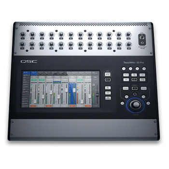 QSC TouchMix 30 Pro Touch Screen Digital Audio Mixer top view