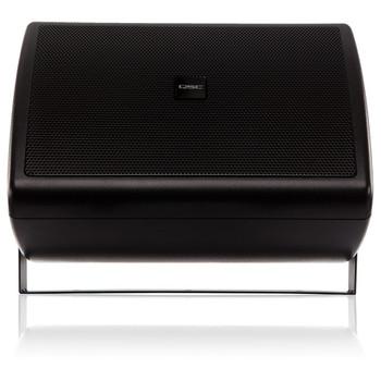 QSC AC S6T BK 6.5 inch Two way black speaker front. EMI Audio