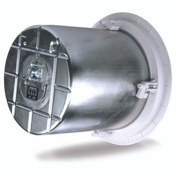 QSC AC C8T 8 inch Two way ceiling speaker back. EMI Audio