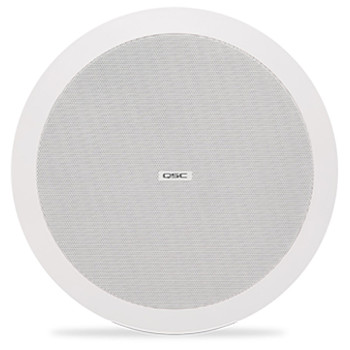 QSC AD C4T LP 4.5 inch Two way low profile ceiling speaker. EMI Audio