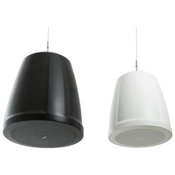 QSC AD-P6T-BK and AD-P6T-WH two way pendant speaker