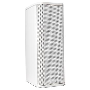 QSC AD S402T WH 2.75 inch white Full range column surface speaker. EMI Audio