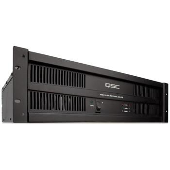 QSC ISA500Ti 2 channels, 260 watts/ch at 8ohms, 425 watts/ch at 4ohms, 700 watts/ch at 2ohms, 500 watts/ch at 70V.