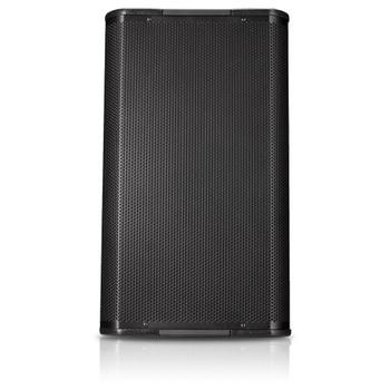 QSC AP 5122 BK 12 two way speaker front view. EMI Audio