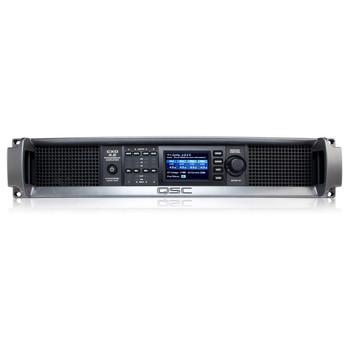 QSC CXD4.2 xx 2000W Amplifier front view. EMI Audio