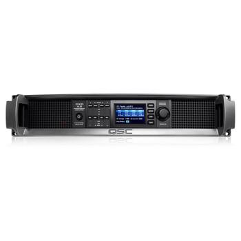 QSC CXD4.5 xx 8000W Amplifier front view. EMI Audio
