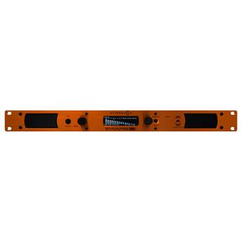 QSC DM1 Rackmount Dante/AES67 Audio Monitor, 1RU   Front