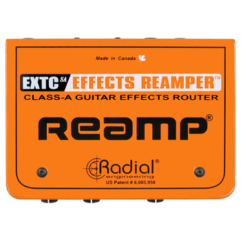 RADIAL EXTC SA Effects loop interface top view EMI Audio