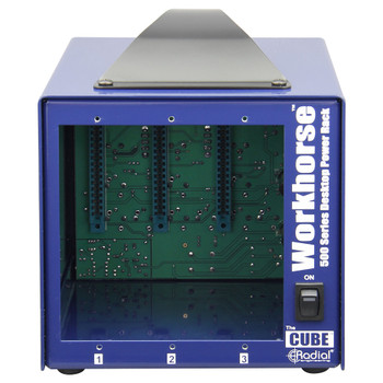 Cube 3 slot power-rack, desktop format, 500mA power supply
