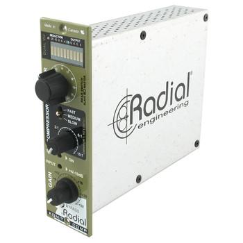 Komit Single knob compressor w/ bridge diode distortion limiter & brick wall