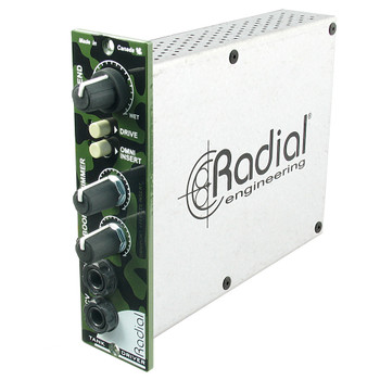 TankDriver Converts line level signal to drive any spring reverb tank, 2 band EQ